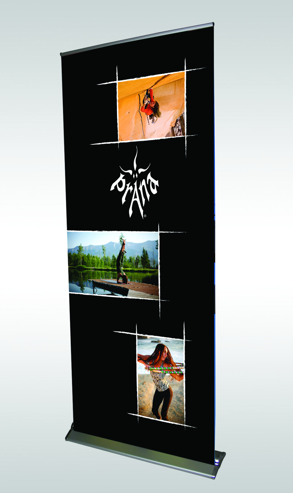 Roller Banners Economy Pull Up Banners 800mm 1500mm Wide