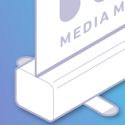 Roller Banner Icon