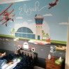 Children's wallpaper wall art